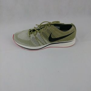 Nike NEW Flyknit Trainer Ah8396-201 Neutral Olive